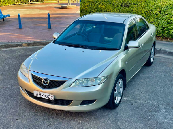 Used Mazda 6 for sale - front passengers side view