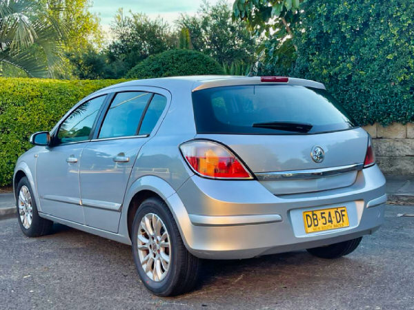 Used Holden Astra for sale - view from rear passenger side angle