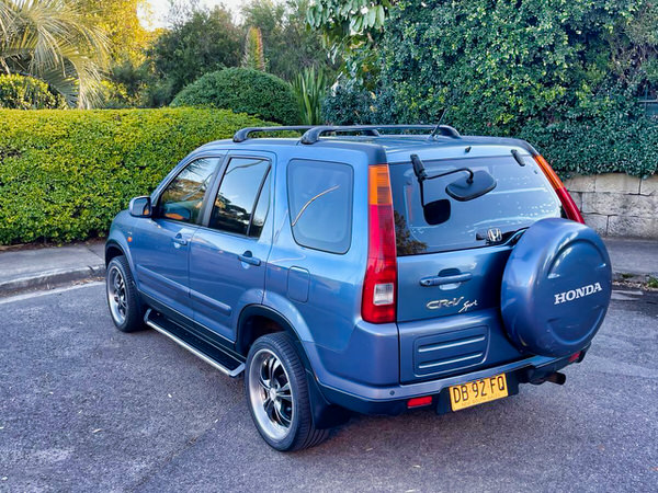 Used Honda CRV for sale - Rare Sports Model - View from rear passenger side view