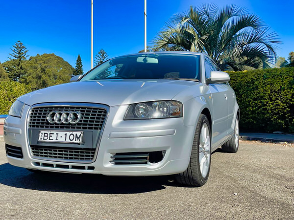 Audi A3 for sale - front passenger side view