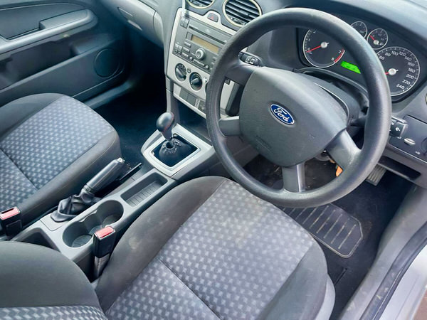 Ford Focus for sale in Sydney - view from the drivers seat looking at the dashboard