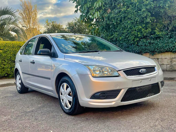 Ford Focus for sale in Sydney - view from driver side showing the clean lines of the car