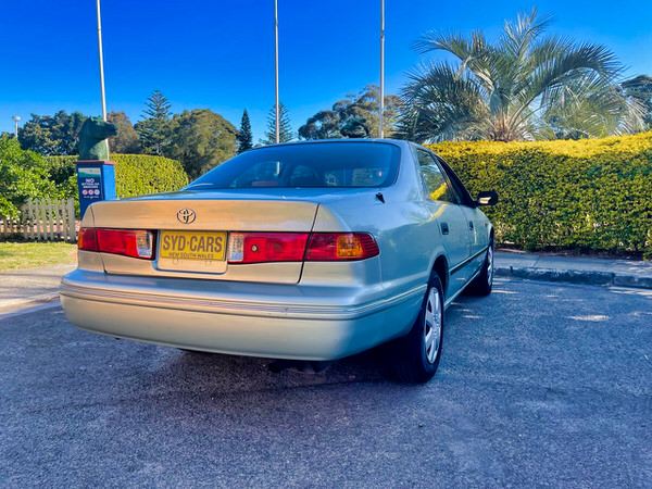 Toyota Camry for sale - automatic - rear drivers side angle photo